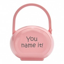 Ovale Dummy box with name, Several colours available