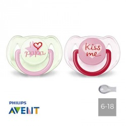 PHILIPS AVENT 6-18,Symmetrical - Silicone