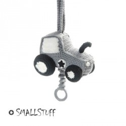 SMALLSTUFF - Lullaby music box, Crochet Tractor