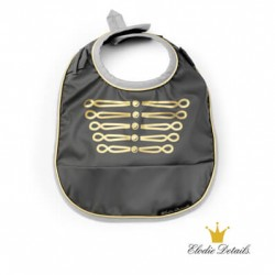 Elodie Details bib, Golden Grey,