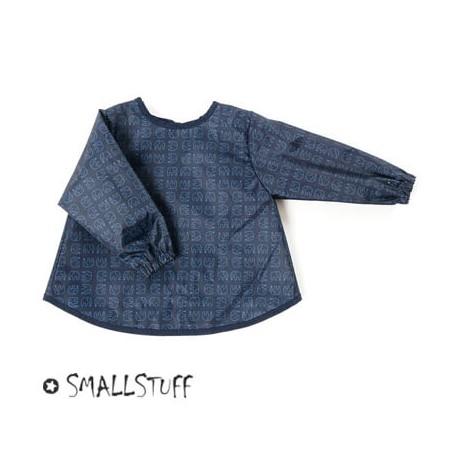 SMALLSTUFF - Förkläde, Elefanter, Navy