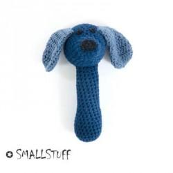 SMALLSTUFF - Maracas Virkad Hund, Blå