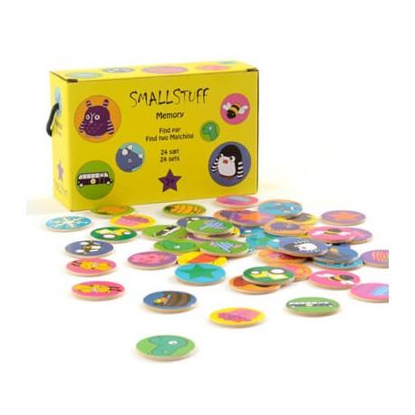 SMALLSTUFF - Memory, Gul lådan, 48 delar