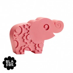 BLAFRE, Lunchlåda Elefant, Rosa