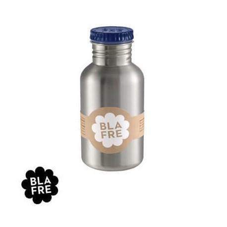 BLAFRE, Dricksflaska i stål, 500 ml,  Marinblå