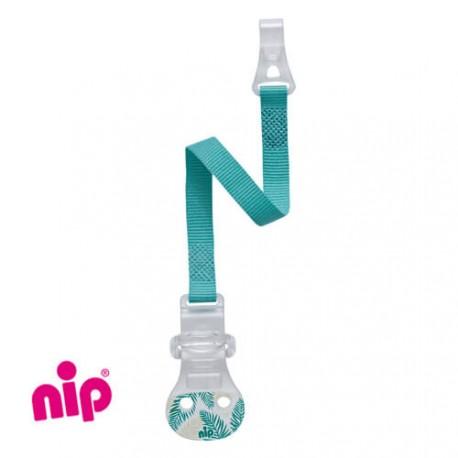 NIP - Nappkedja, Blå/grön, Med krok