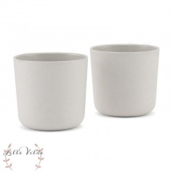 BY LILLE VILDE, Cup 2-pack, Grey