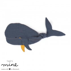 THAT'S MINE, Baby comforter, Whale