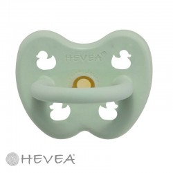 HEVEA, Round - Natural rubber, Duck - Mellow Mint / 0-3 months