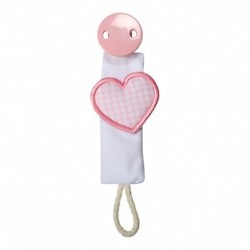Dummy clip, Heart, Several colours available