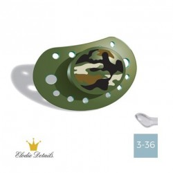 Elodie Details 3-36,The Peacekeeper,Anatomic teat - Silicone