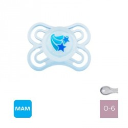 MAM PERFECT 0-6,NIGHT,Symmetric - Silicone