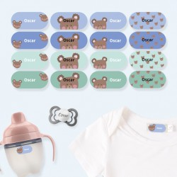 20 On Durable Name Tags For