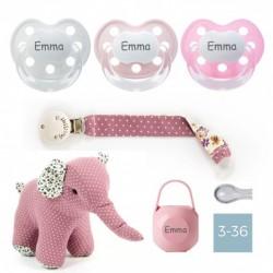 Gift Box Elephant - Dummy chain - Girl