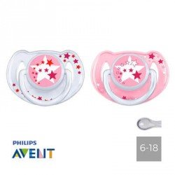 PHILIPS AVENT 6-18, NIGHT, Symmetrical - Silicone