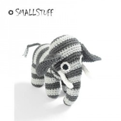 Smallstuff Elephant - Crochet