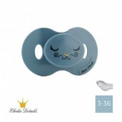 Elodie Details - 3-36,  Tender Blue, Anatomic - Silicone