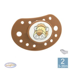 ESSKA 3-36, NIGHT, Anatomical - Silicone, Lion