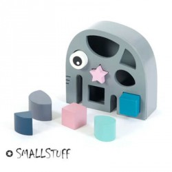 SMALLSTUFF, Shape sorter - Toy, Elephant