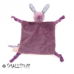 SMALLSTUFF , Cuddling cloth, Rabbit, Dusty purple