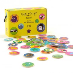 SMALLSTUFF - Memory, Yellow box, 48pcs
