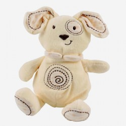 Teddy bear, Organic, White