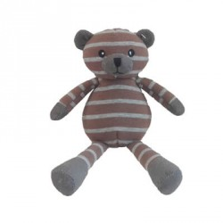MAGNI, Teddy Bear, Brown/Grey Stripes