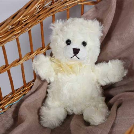 SMALLSTUFF - Teddy bear, Off White
