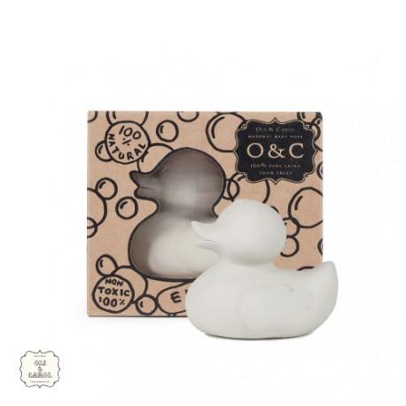 OlI & CAROL, Bathing duck, Light-grey