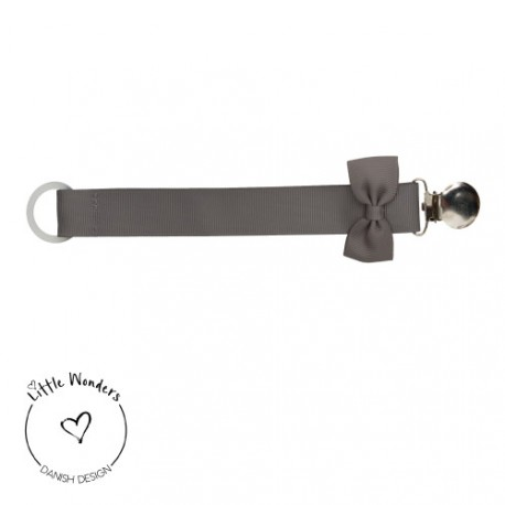 Little Wonders - dummy chain, Grey