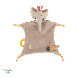 MOULIN ROTY, Security blanket, Elephant