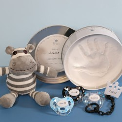 Gift box for boy, including plaster set,3-36 months