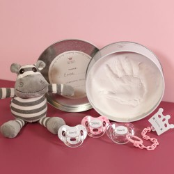 Gift box for girl, incl. plaster set, 3-36 months