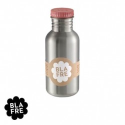 BLAFRE, Steel drinking bottle, 500 ml., Rose