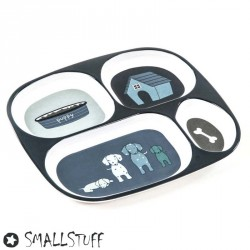 SMALLSTUFF, 4- room plate, Dogs
