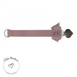 Little Wonders - Dummy Chain Dusty Pink