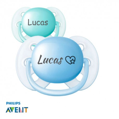 PHILIPS AVENT Ultra Soft 0-6 Symmetrical - Silicone