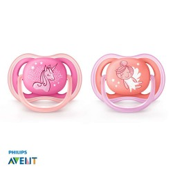 PHILIPS AVENT Ultra Air, Pacifiers 6-18 months, Symmetrical - Silicone