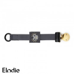 ELODIE DETAILS, Soother Clip, Playful Pepe Patch