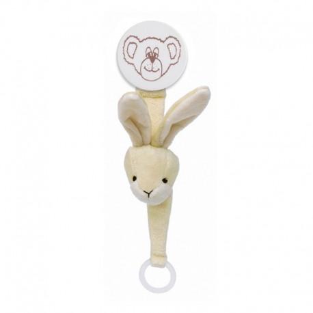 DIINGLISAR - Stuffed animal with dummy ring, Lion