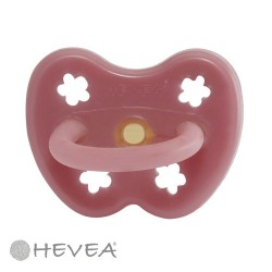 HEVEA Soother – CROWNS, Size 3-36 m,Round teat - Natural rubber