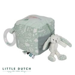 LITTLE DUTCH, Activity Dice, Mint - Rabbit