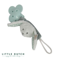 LITTLE DUTCH, Dummy clip, Mint - Rabbit