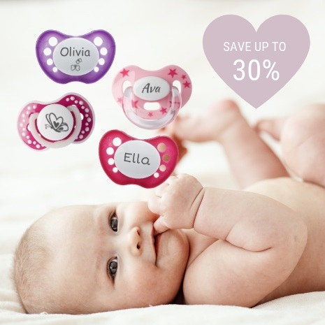 Personalised dummies - SAVE UP TO 30%