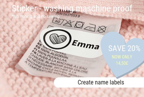Name labels - SAVE 20%