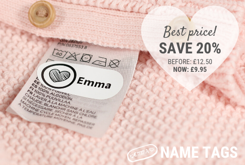 Name labels with discount - SAVE 20%