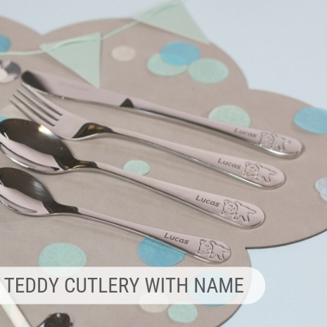 Personalised cutlery - perfect gift idea!