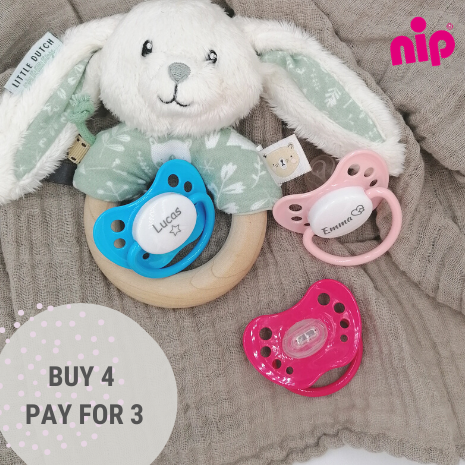 BUY 4 PAY FOR 3 - The offer applies to all from Nip