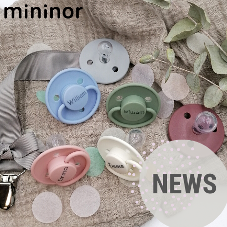 News from Mininor - Take a look on the cute colors